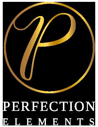 goud logo tekst wit